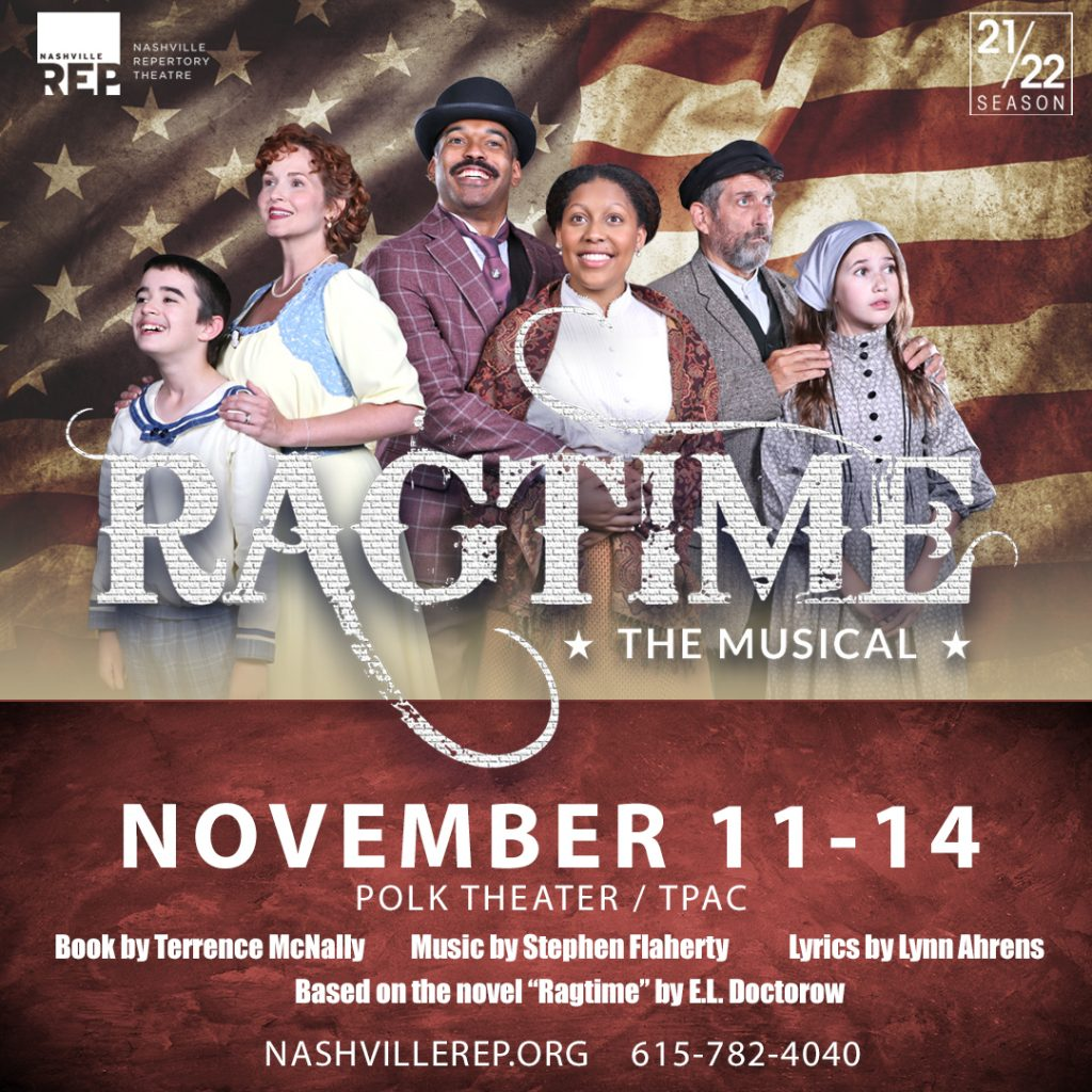 Ragtime Musical Tickets! TPAC, Nashville