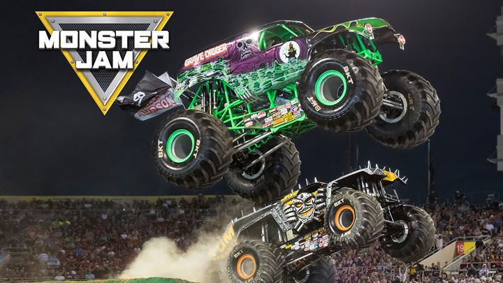 Monster Jam at Bridgestone Arena, Nashville, TN January 4 & 5, 2020
