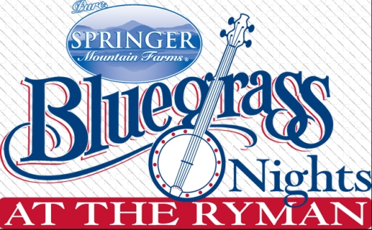 Bluegrass Nights at Ryman Auditorium, Nashville, TN