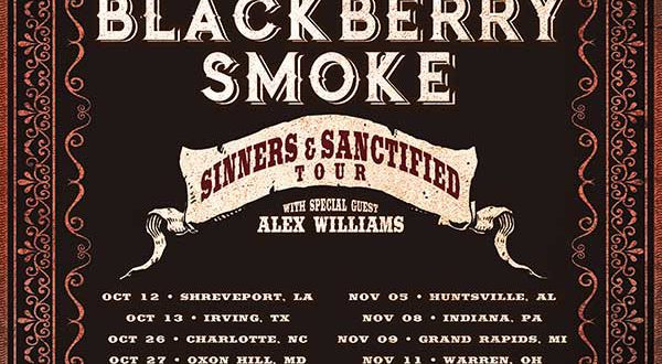 aaron lewis and blackberry smoke confirm co headlining fall tour. Black Bedroom Furniture Sets. Home Design Ideas