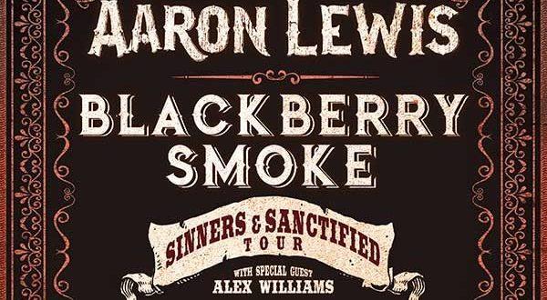 Aaron Lewis & Blackberry Smoke Tour - Tickets!