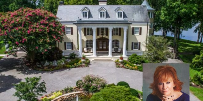 Reba McEntire Sells Picturesque Water Front Estate, Tennessee
