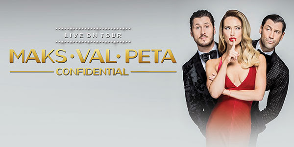 'Dancing with the Stars' Maks & Val Chmerkovskiy with Peta Murgatroyd at Tennessee Performing Arts Center in Nashville, TN - Tickets!