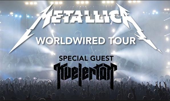Metallica, Bridgestone Arena, Nashville, Tennessee