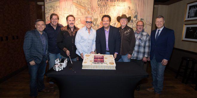 Diamond Rio Celebrates 20 Years As Opry Members