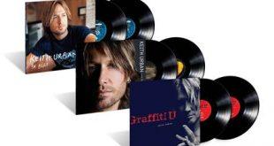 Keith Urban Albums on Vinyl