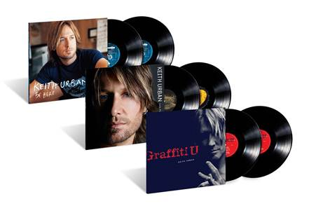 Keith Urban Albums on Vinyl
