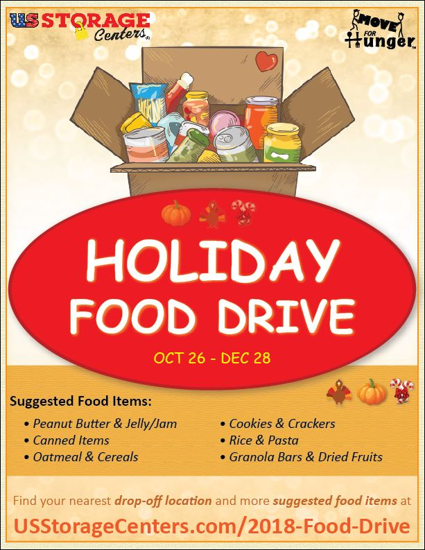 Holiday Food Drive to Benefit Local Food Banks, Nashville, Tennessee