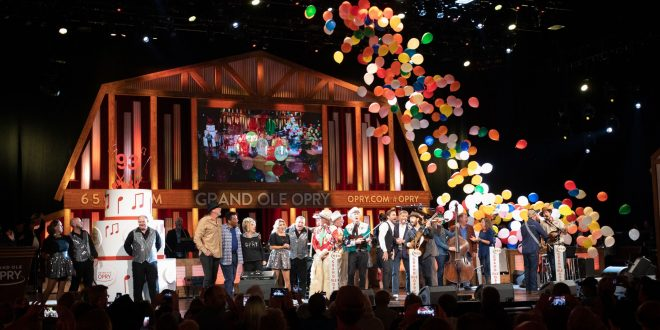 Grand Ole Opry Celebrates 93rdBirthday