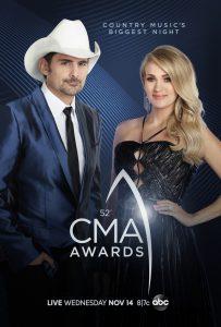 The 52nd CMA Awards in Nashville, TN