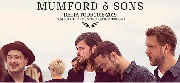 Mumford & Sons, Nashville, Bridgestone Arena