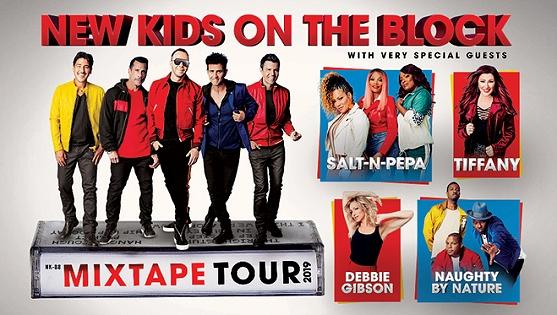 New Kids on the Block in Nashville at Bridgestone Arena 5/9/19.
