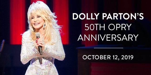 Dolly Parton, 50th Opry Anniversary, Grand Ole Opry, Nashville, Tennessee