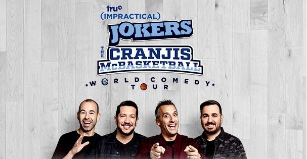The Cranjis McBasketball World Comedy Tour starring The Tenderloins at Bridgestone Arena in Nashville