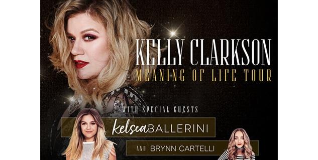 Kelly Clarkson, Bridgestone Arena, Nashville, Tennessee