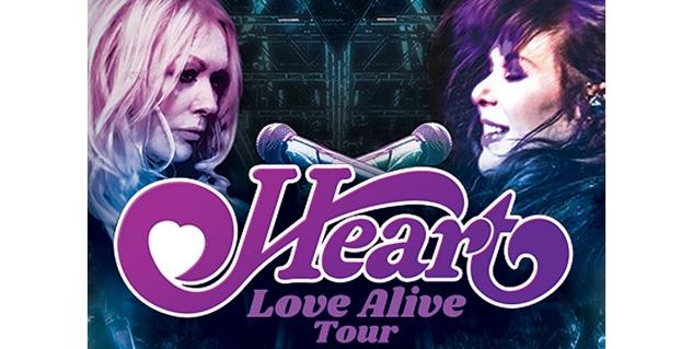 Heart, Ascend Amphitheater, Nashville, TN
