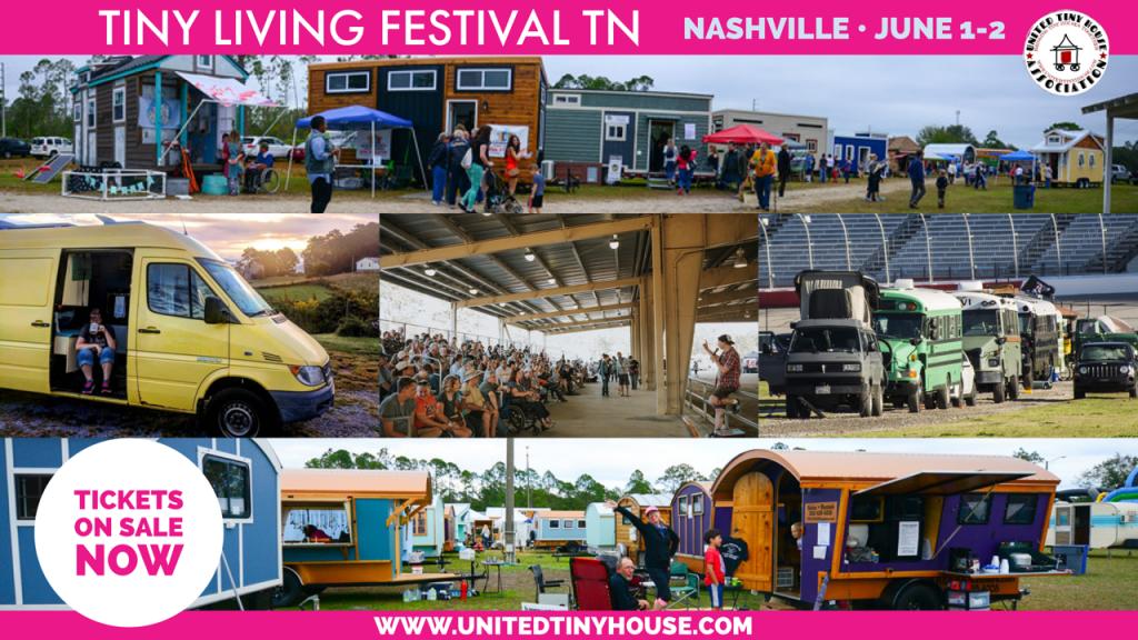 Tiny LIVING Festival - Tennessee 2019, Nissan Stadium- Nashville
