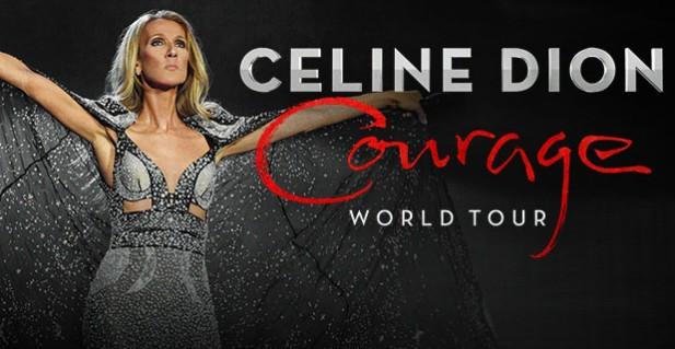 Celine Dion, Bridgestone Arena, Nashville, Tennessee