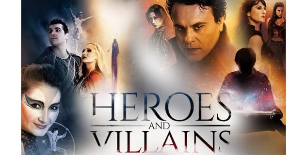 Cirque Musica: Heroes & Villains, Nashville Symphony, Ascend Amphitheater, Nashville, Tennessee