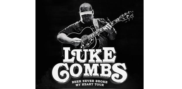 Luke Combs, Bridgestone Arena, Nashville, Tennessee - Dec 12 & 13, 2019. Buy Tickets Here