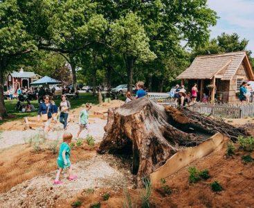 Storybook Houses at Cheekwood Gardens, Nashville, TN