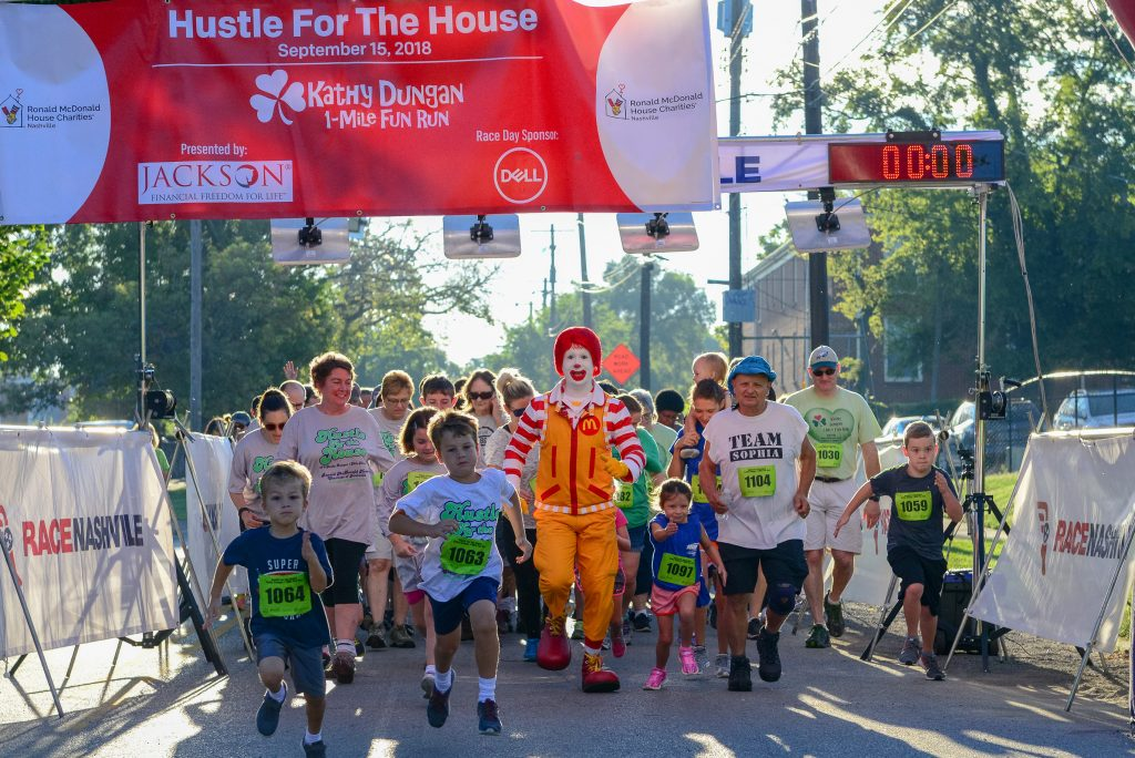 Hustle for the House 5K and 1-Mile Fun Run, Nashville, Tennessee, Sept 14, 2019