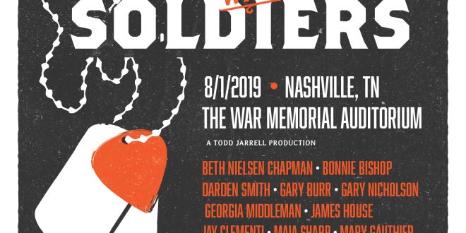 Songwriting with Soldiers at Nashville's War Memorial Auditorium, Nashville, Tennessee - August 1, 2019