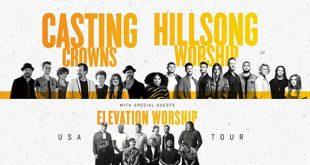 Casting Crowns, Hillsong Worship at Bridgestone Arena, Nashville, Tennessee, 11/17/19. Buy Tickets from Nashville.com