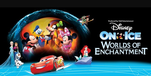 Disney on Ice: Worlds of Enchantment at Bridgestone Arena, Nashville, Tennessee September 12 - 15, 2019. Buy Tickets from Nashville.com