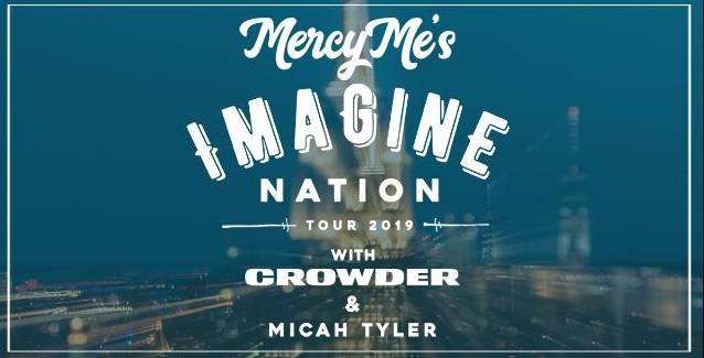MercyMe at Bridgestone Arena, Nashville, Tennessee, 10/27/19. Buy Tickets from Nashville.com