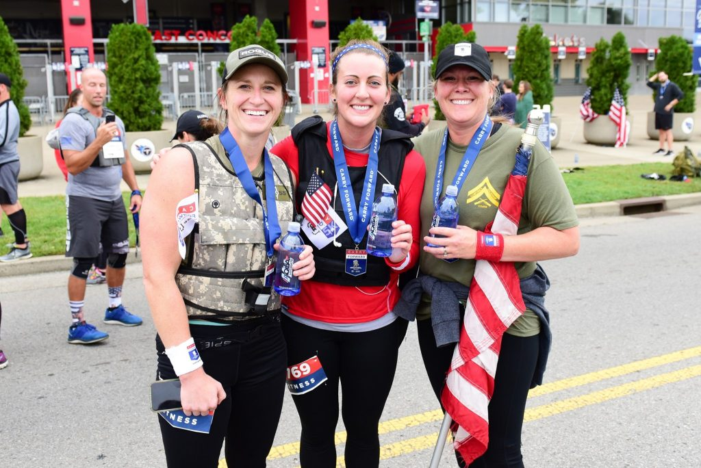 Wounded Warrior Project Carry Forward 5K, Nissan Stadium, Nashville, Tennessee on 9/21/19