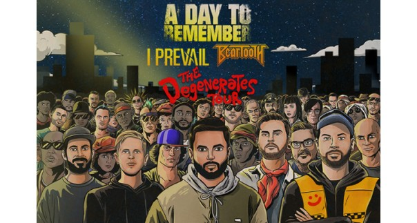 A Day to Remember at Nashville Municipal Auditorium, Tennessee on 11/22/19. Buy Tickets from Nashville.com
