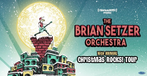 Brian Setzer Orchestra at Ryman Auditorium, Nashville, Tennessee on 12/2/19. Buy Tickets from Nashville.com