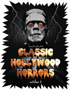 Way Late Play Date: Classic Hollywood Horrors at Adventure Science Center, Nashville, Tennessee on October 3, 2019