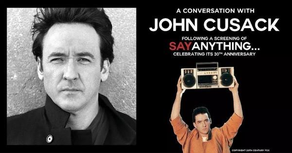 John Cusack at Nashville War Memorial on 11/2/19. Buy Tickets from Nashville.com