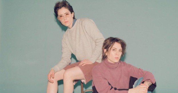 Tegan and Sara at Country Music Hall of Fame in Nashville, Tennessee on 10/29/19