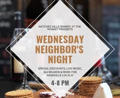 Wednesday Neighbors' Night at Natchez Hills, Nashville, Tennessee