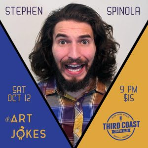 ART JOKES with Stephen Spinola, Third Coast Comedy Club, Nashville, TN