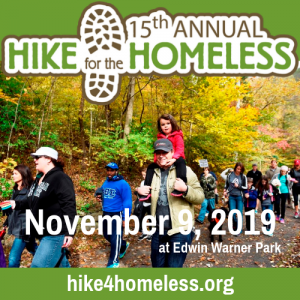 15th Annual Hike for the Homeless, Edwin Warner Park, Nashville, Tennessee