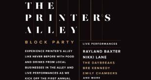 Printer's Alley Block Party, Nashville, TN 10/19/19