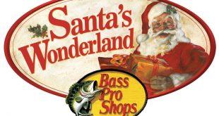Santa's Wonderland at Bass Pro Shops featuring FREE photos with Santa, Nashville, TN