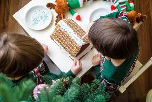 Gingerbread Decorating at Cheekwood Estate & Gardens, Nashville, TN