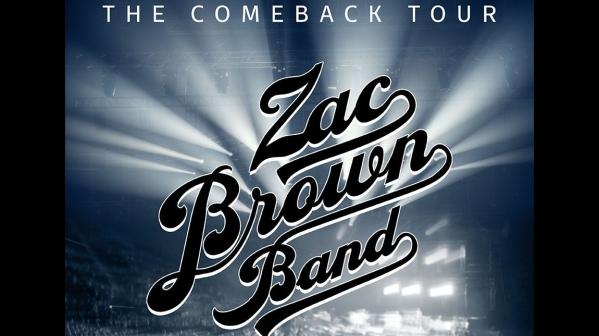 Zac Brown Band Tickets! Bridgestone Arena, Nashville 10/17/21