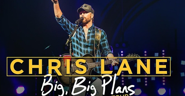 Chris Lane at Marathon Music Works, Nashville Jan 23, 2020