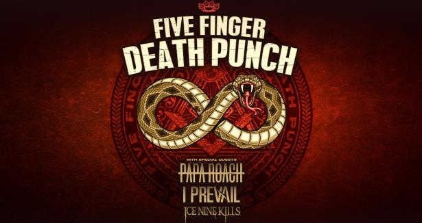 Five Finger Death Punch at Bridgestone Arena, Nashville 10/5/20. Buy Tickets on Nashville.com