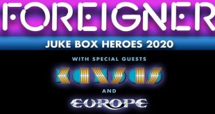 Foreigner at Ascend Amphitheater, Nashville 9/8/20 with Kansas and Europe. Buy Tickets on Nashville.com