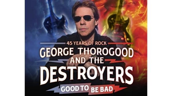 George Thorogood & The Destroyers, Ryman Auditorium, Nashville 3/3/2020. Buy Tickets on Nashville.com