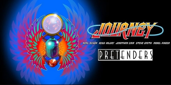 Journey and The Pretenders at Bridgestone Arena, Nashville 8/12/20. Buy Tickets on Nashville.com