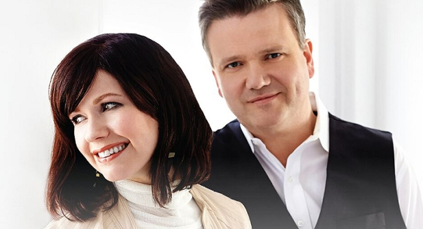 Keith & Kristyn Getty at the Grand Ole Opry House, Nashville, Aug 30, 2020