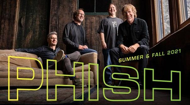 Phish at Ascend Amphitheater, Nashville, Tennessee > Aug 3 & 4, 2021